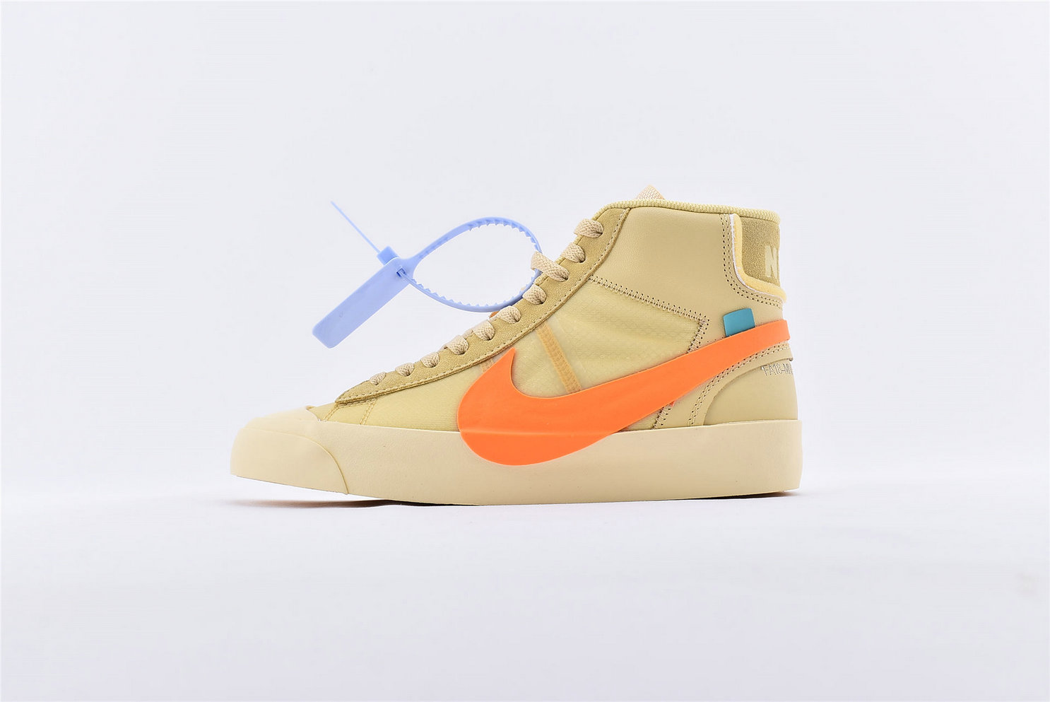 Where To Buy Cheap Off-White x Nike Blazer Orange SPOOKY PACK AA3832-700