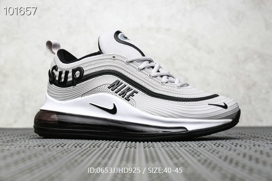 Where To Buy Cheap Supreme x Nike Air Max 97 Wolf Grey Black