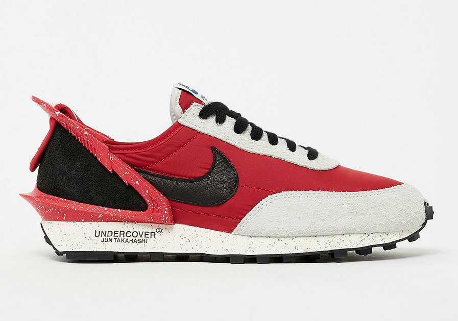 Where To Buy Cheap UNDERCOVER x Nike Daybreak University Red Black Spruce Aura CJ3295-600