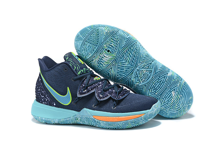 Where To Buy Kids Nike Kyrie 5 UFO Obsidian Light Current Green-Scream Green AO2918-400