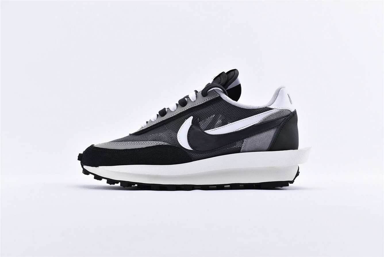 Where To Buy Sacai x Nike LDV Waffle Daybreak Black Anthracite White Gunsmoke BV0073-001