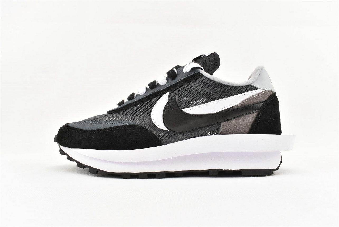 Where To Buy Sacai x Nike LDV Waffle Daybreak Black Grey BV0073 001