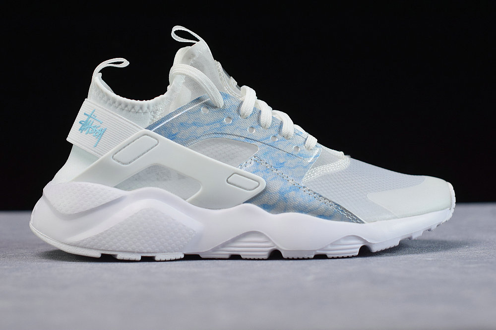Where To Buy Womens Nike Air Huarache Run Premium Transparent Spray Blue Transparence Blue 875868-003