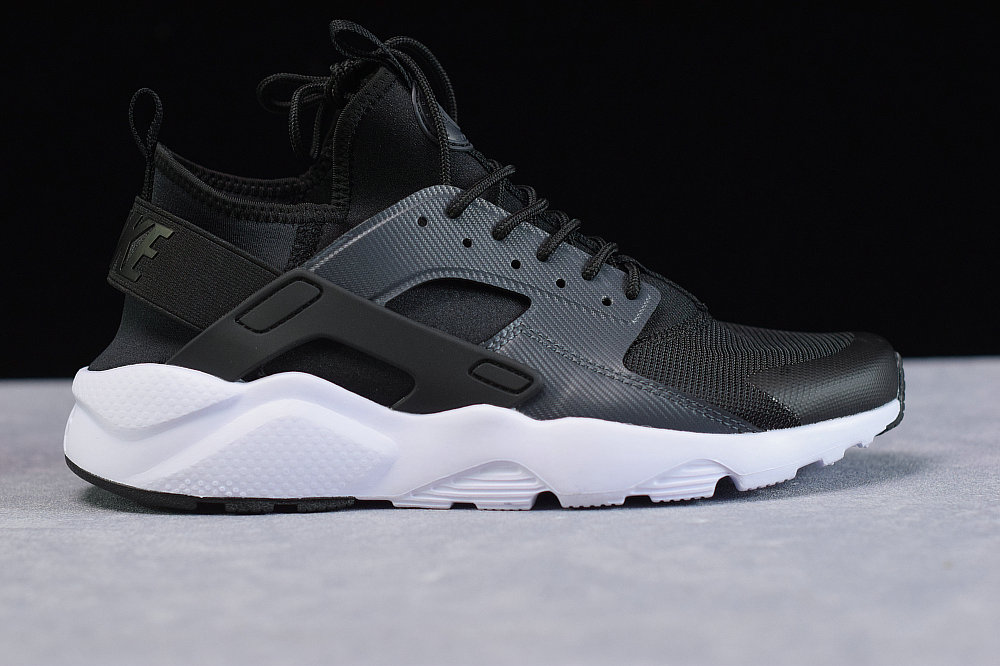 Where To Buy Womens Nike Air Huarache Run Ultra Black Anthracite White Noir Blanc Anthracit BV0021-001