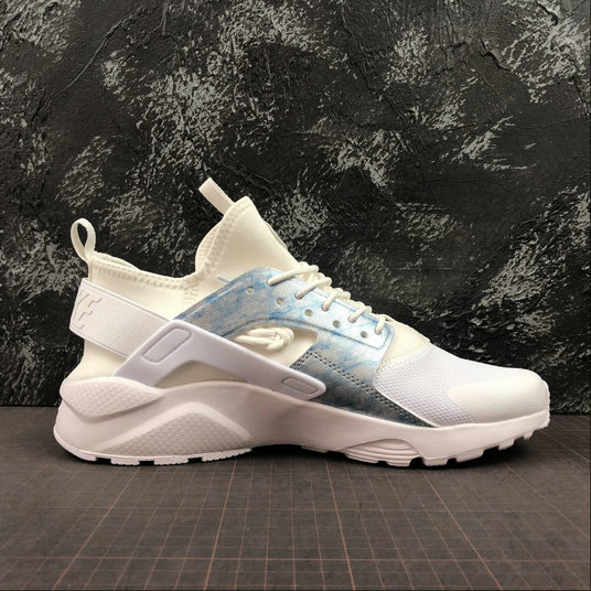 Where To Buy Womens Nike Air Huarache Run Ultra White Royal Tint Blanc Teinte Royal Blanc 8475469-102