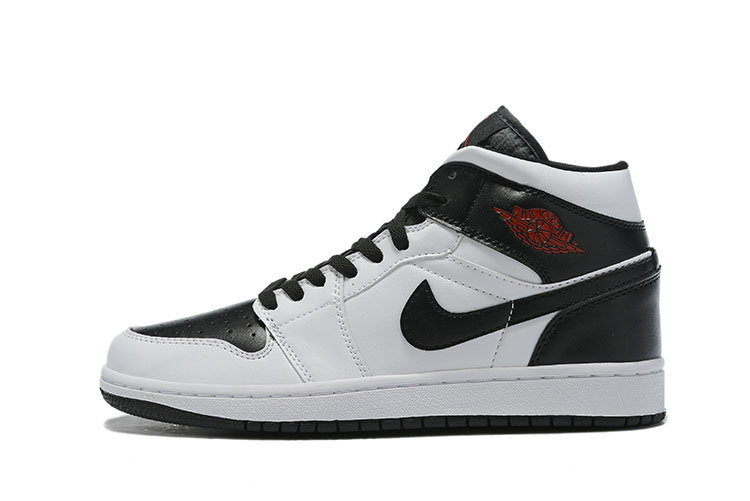 Where To Buy Womens Nike Air Jordan 1 Mid Chicago Bulls White Black-Red