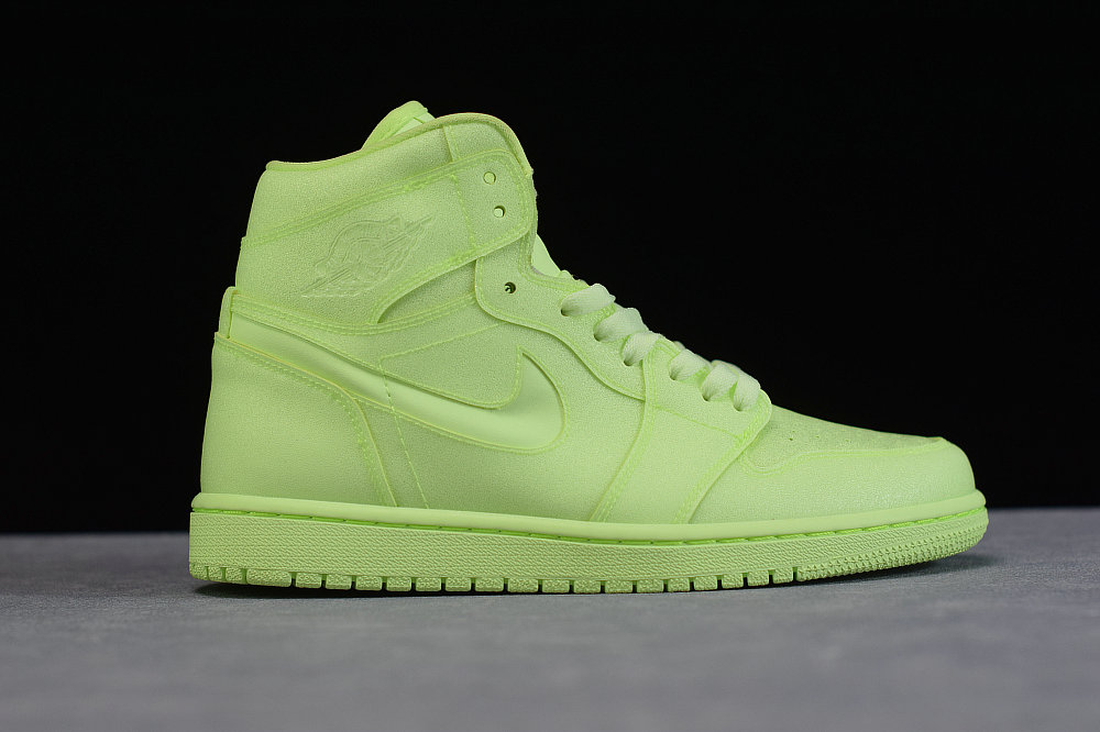 Where To Buy Womens Nike Air Jordan 1 Ret Hi Prem Barely Volt Discret AH7389-700