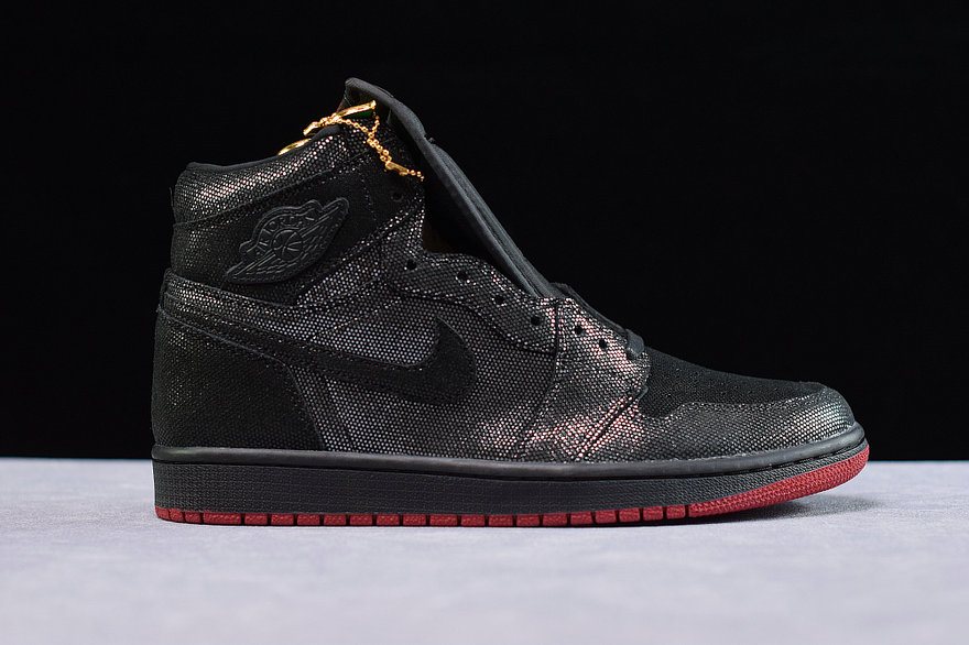 Where To Buy Womens Nike Air Jordan 1 Retro High OG Black Gym Red DC7071-001