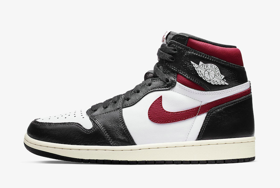 Where To Buy Womens Nike Air Jordan 1 Retro High OG Black White-Sail-Gym Red 555088-061
