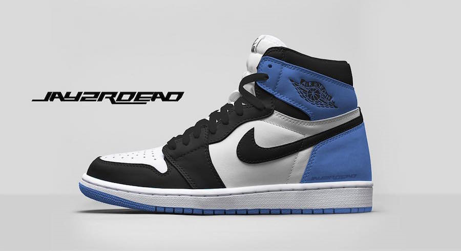 Where To Buy Womens Nike Air Jordan 1 Retro High OG Summit White Black-Blue Moon 555088-115
