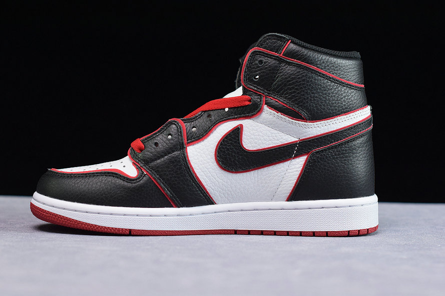 Where To Buy Womens Nike Air Jordans 1 High OG White Red Black Blanc Noir Rouge 555088-062
