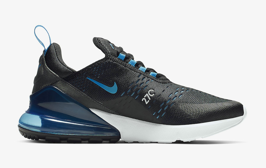 Where To Buy Womens Nike Air Max 270 Black Photo Blue-Blue Fury-Pure Platinum-Anthracite-White AH8050-019