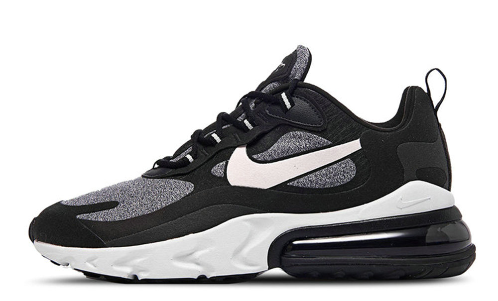 Where To Buy Womens Nike Air Max 270 React Black Vast Grey-Off Noir-Black AT6174-001