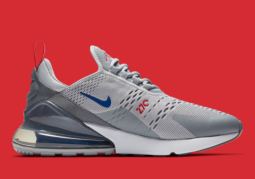 Where To Buy Womens Nike Air Max 270 Wolf Grey Game Royal-Cool Grey-University Red CD7338-001