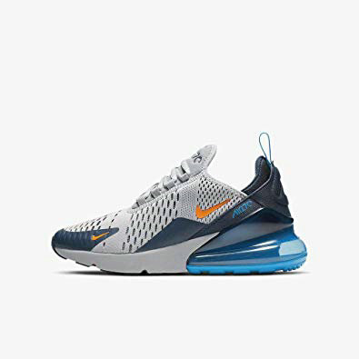 Where To Buy Womens Nike Air Max 270 Wolf Grey Total Orange Gris Loup Orange Total 943345-015