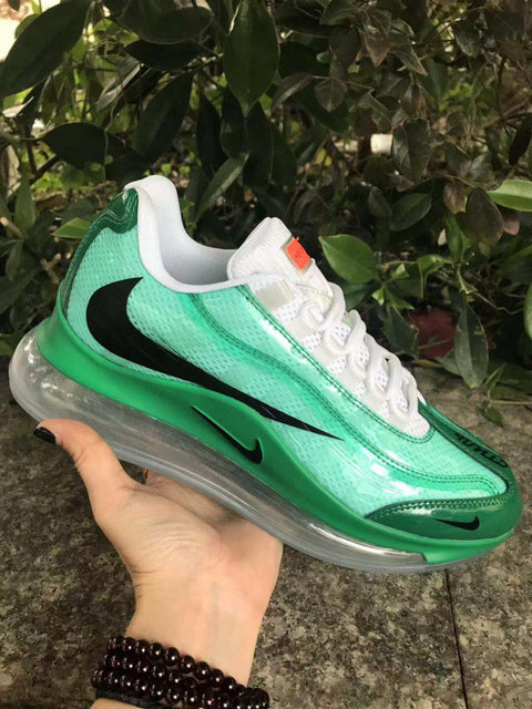 Where To Buy Womens Nike Air Max 720-95 Heron Preston By You Green Black White