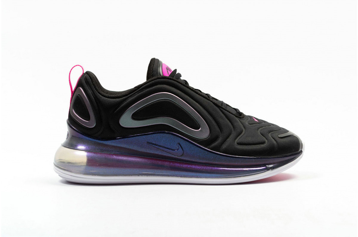 Where To Buy Womens Nike Air Max 720 SE Black Laser Fuchsia-White CD2047-001