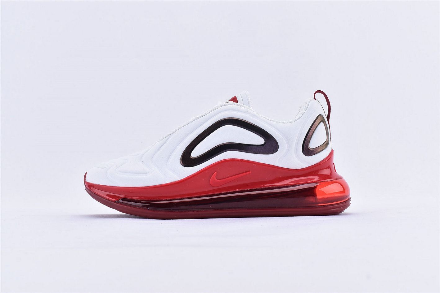 Where To Buy Womens Nike Air Max 720 White Gym Red CD2047-100