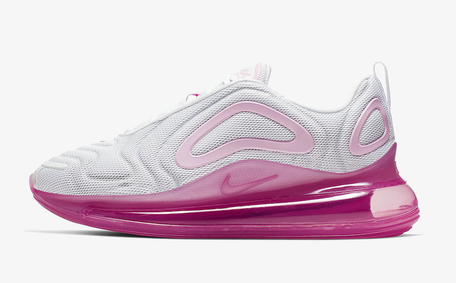 Where To Buy Womens Nike Air Max 720 White-Pink Rise-Laser Fuchsia AR9293-103