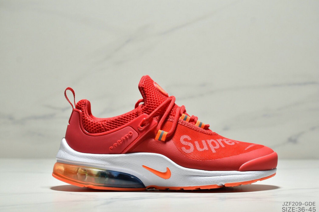 Where To Buy Womens Nike Air Presto Supreme University Red White Orange