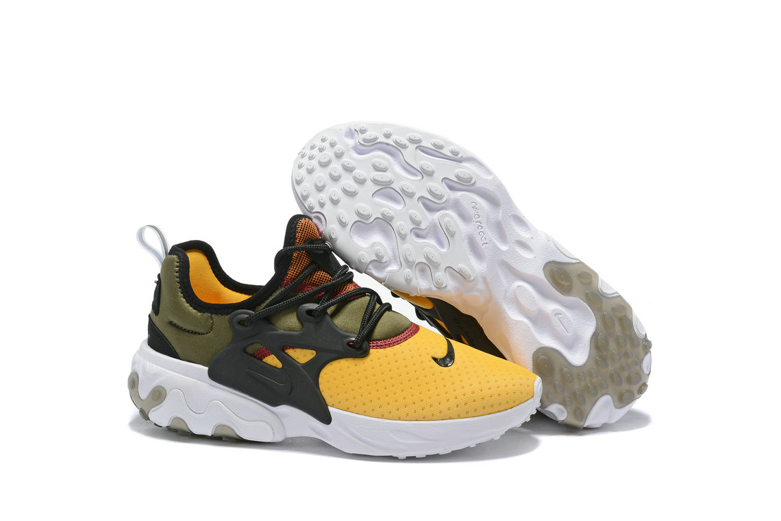Where To Buy Womens Nike Epic React Flyknit Black Army Green Yellow White