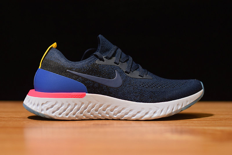 Where To Buy Womens Nike Epic React Flyknit College Navy AQ0070 400