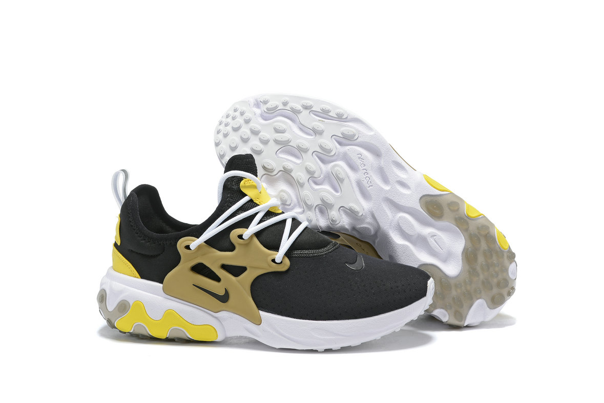 Where To Buy Womens Nike Epic React Flyknit Gold Black White Yellow