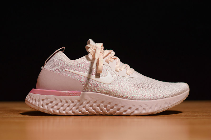 Where To Buy Womens Nike Epic React Flyknit Pearl Pink AQ0070-600