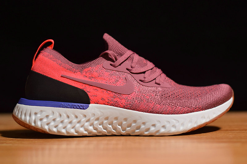 Where To Buy Womens Nike Epic React Flyknit Rust Pink Womens AQ0070-601