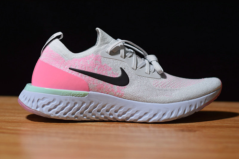 Where To Buy Womens Nike Epic React Pure Platinum Hydrogen Blue-Pink Beam-Black AQ0067-007