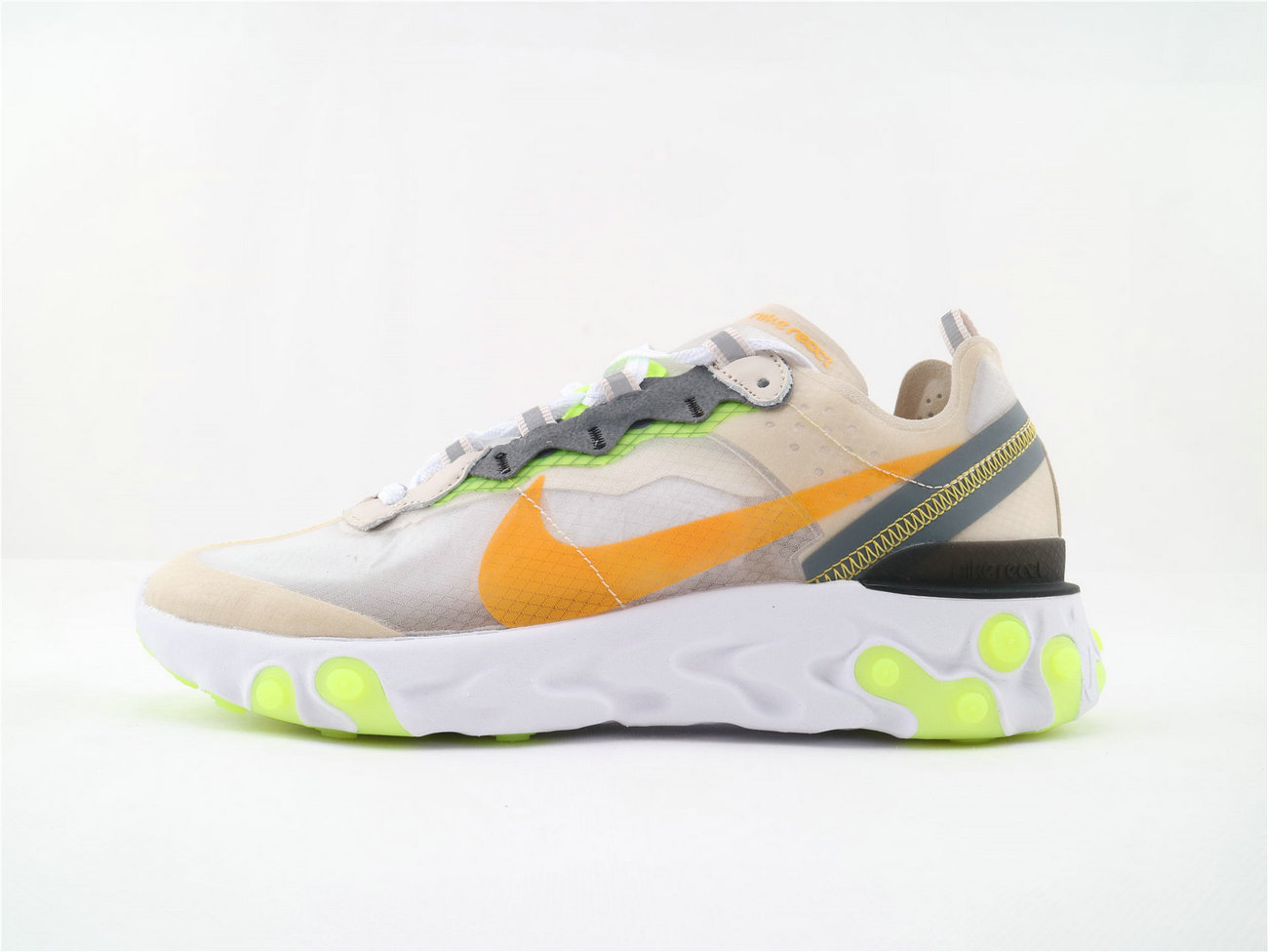 Where To Buy Womens Nike React Element 87 Undercover LT Orewood Brn Laser Orange AQ1090 101