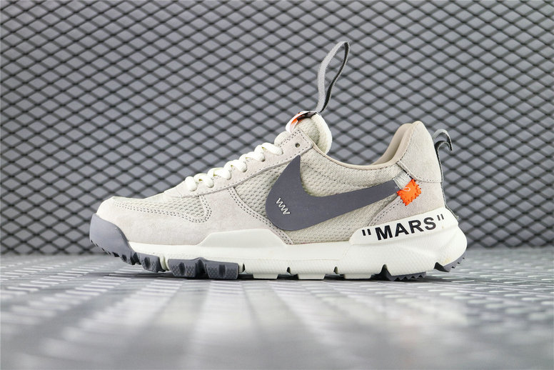 Where To Buy Womens OFF White x Tom Sachs x NikeCraft Mars Yard 2.0 Grey Black AA2261-003