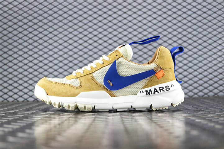 Where To Buy Womens Off White x Tom Sachs x Nike Craft Mars Yard 2.0 Yellow White Blue AA2261 600