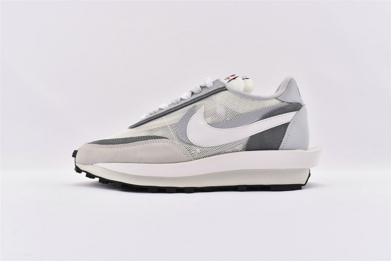 Where To Buy Womens Sacai x Nike LDV Waffle Daybreak Summit White White Wolf Grey Black BV0073 100