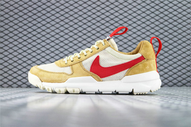 Where To Buy Womens Tom Sachs x Nike Mars Yard 2.0 Toddler Natural Maple-Sport Red AA2261 100