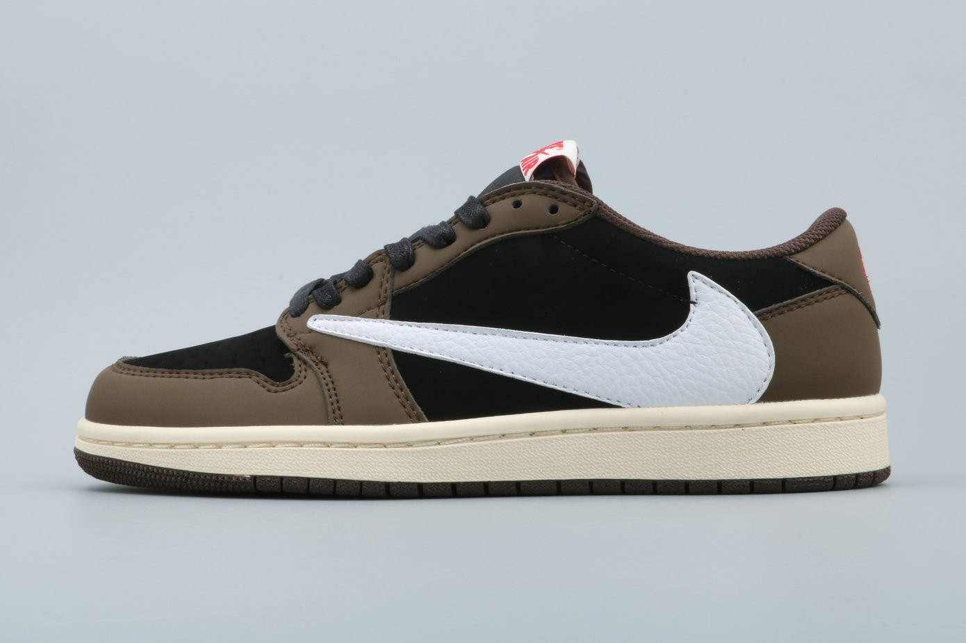 Where To Buy Womens Travis Scott x Air Jordan 1 Low OG SP Black Dark Mocha-University Red-Sail CQ4277-001