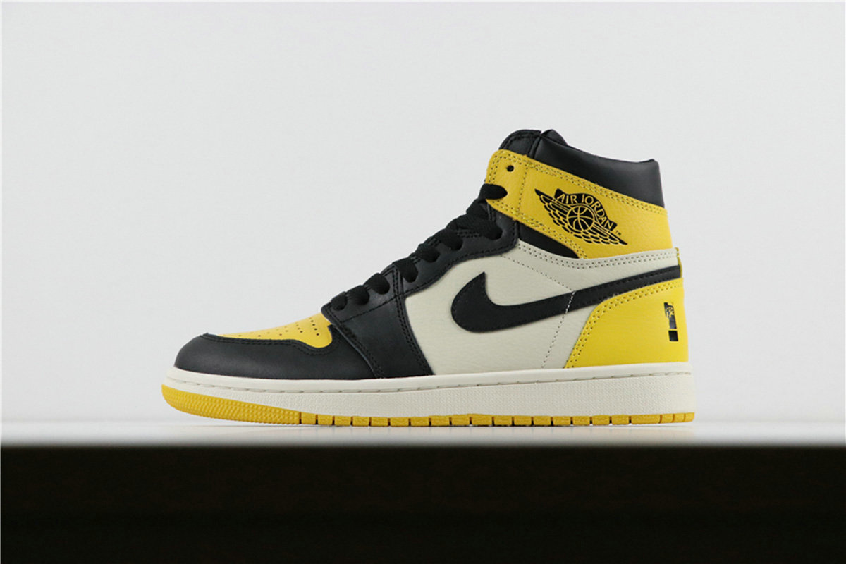 Where To Buy Womnens Nike Air Jordan 1 Retro High OG Yellow Toe Ochre AR1020-700