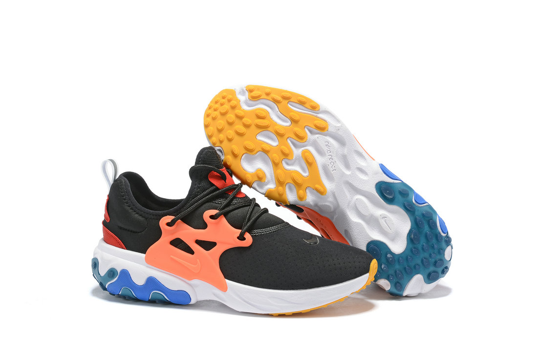 Where To Buy Womnens Nike Epic React Flyknit Black Orange White Red Blue