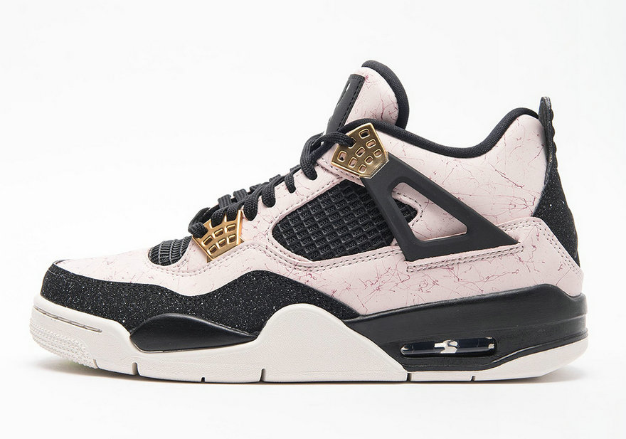 Womens 2019 Cheap Nike Air Jordan 4 Retro AQ9129-601 Silt Red-Black-Phantom-Volt
