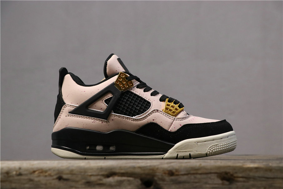 Womens 2019 Cheap Nike Air Jordan 4 Silt Red Black-Phantom-Volt AQ9129-601