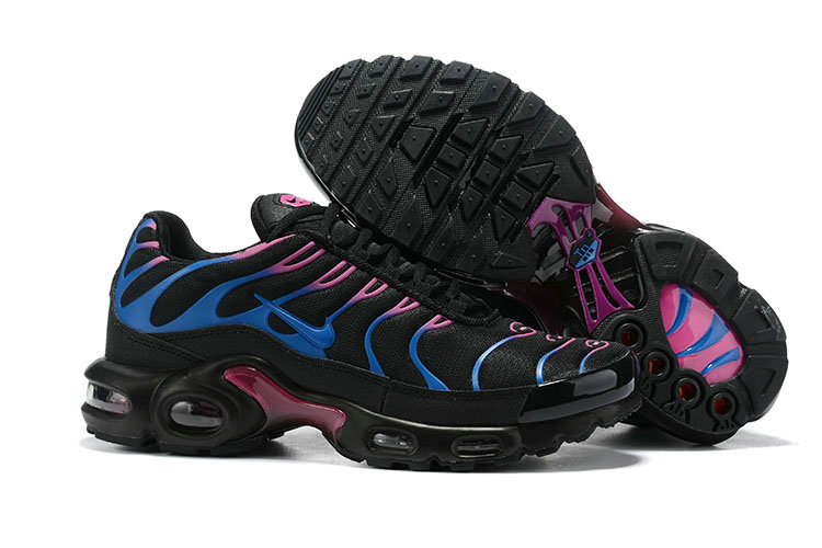 Womens 2019 Cheap Nike Air Max Plus Purple Blue Black