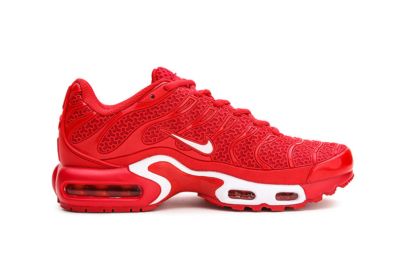 Womens 2019 Cheap Nike Air Max Plus TN University Red White