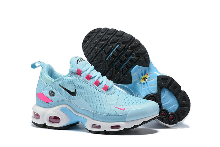 Womens 2019 Cheap Nike Air Max TN x Air Max 270 Moon Blue Pink Black