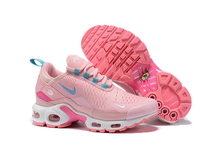 Womens 2019 Cheap Nike Air Max TN x Air Max 270 Pink Aqua Green