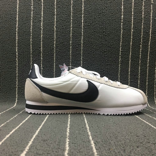 Womens 2019 Cheap Nike Cortez Be True White Black-Summit White 902806-100