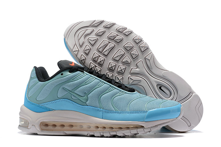 Womens Cheap Nike Air Max Tn x Air Max 97 Womens Light Blue White