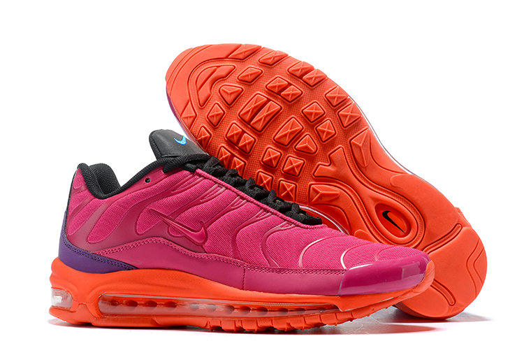 Womens Cheap Nike Air Max Tn x Air Max 97 Womens Pink Orange Black Purple