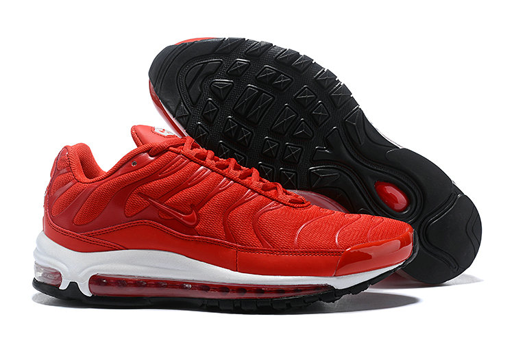 Womens Cheap Nike Air Max Tn x Air Max 97 Womens University Red Black White