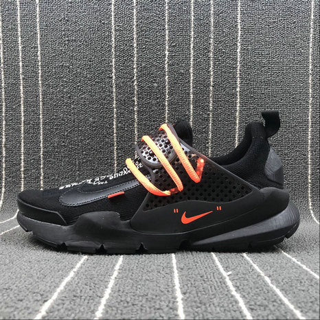 Womens Cheap OFF WHITE x Nike Sock Dart Triple Black Cheap
