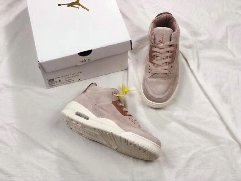 new product 9785b b5c62 Womens Nike Air Jordan3 Rose Gold - Cheap Nike Air Jordan ...